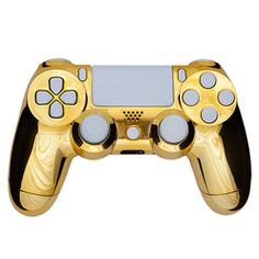 Playstation 4 Controller -Chrome Gold & White PS4