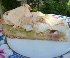 Rezept Rhabarberkuchen mit Baiserguss von Vapiano - Rezept der Kategorie Backen süß