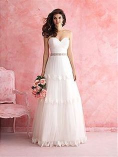 Bridal Gowns Allure Romance 2804 Bridal Gown Image 1