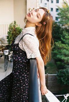 Korean model Lee Seong Kyeong