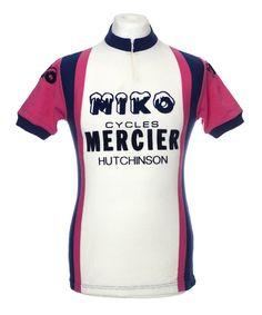 88961055c MIKO MERCIER HUTCHINSON VINTAGE RETRO CYCLING JERSEY MAILLOT CYCLISTE  CYCLISME