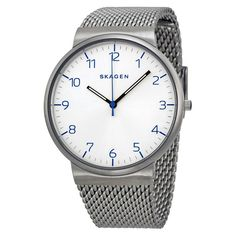 SKAGEN Men WATCH SKW6163 Ancher Easy To Read Dial Stainless STEEL MESH $165 SALE #Skagen #LuxurySportStyles