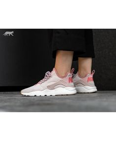 buy popular a071e 6e101 Chaussure Nike Femme Air Huarache Courir Ultra Prm Limon Rouge Rouge  Stardust Voile Gomme Med Marron