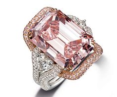 lisa VDP this is for you darling, beautiful pink diamond. kmw