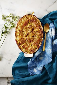 Side Dish: Scalloped Hasselback Potatoes with Cheddar - GoodHousekeeping.com