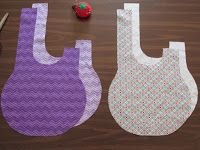Tutorial: How to make a reversible Japanese knot bag.