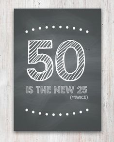 Funny 50th Birthday Card (Printable) on Etsy, $2.00