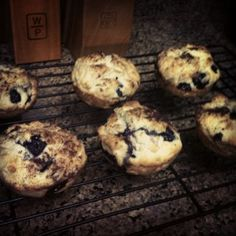 Low Sodium Blueberry Muffins. Super fast and easy. Only 209 Calories and 18mg sodium for a BIG bakery style muffin.