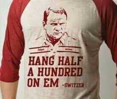 Switzer is the man. The hang man. Oklahoma Sooners Football, Ou Football, Barry Switzer, Boomer Sooner, University Of Oklahoma, Graphic Sweatshirt, T Shirt, Sweatshirts, Hoodies