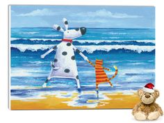 "Wandbild von Peter Adderley - ""Duke & Sweetpea"""