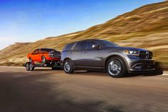 The 2016 Dodge Durango is a rugged SUV with luxury interior features, 25 HWY MPG, 60 safety features... #Dodge #SUV http://onlinecarnews.net/2016-dodge-durango/