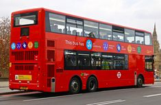 TA1 London Transport, Mode Of Transport, Old Lorries, Westminster Bridge, Buses And Trains, Nissan Leaf, London History, Double Decker Bus, Bus Coach