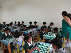 Young Warriors Chess Competition was conducted as on 08/12/2015 for the students. We are happy to announce that 13 students are selected for grand finale.