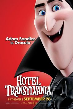 Adam Sandler is Dracula in 'Hotel Transylvania' Hotel Transylvania Characters, Dracula Hotel Transylvania, Hotel Transylvania Movie, Cartoon Movies, Scary Movies, Great Movies, Comedy Movies, Adam Sandler, Retro Video