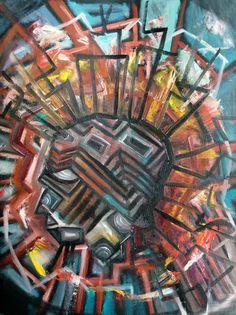 "For Sale: Traditions by Dusty Reed | $250 | 12""w x 16""h | Original Art | http://www.vangoart.co/buy/art/traditions @VangoArt"