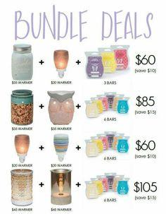 Bundle deals!  Https://mknight83.scentsy.us