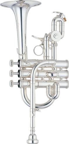 Yamaha YTR-9825 Custom Bb / A Piccolo Trumpet | Silver Finish