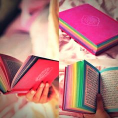#Islam#quran#colouredquran#beautiful#Mashallah