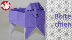 Et voici une petite boîte en forme de toutou. C'est un origami de Fumiaki Shingu qui se plie dans un carré. Vous pouvez lui ajouter des yeux et une truffe au stylo si vous le désirez.  Pour encore plus de vidéos, photos et tutoriels, venez nous visiter sur http://www.senbazuru.fr