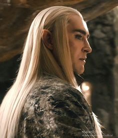 Lee Pace as Thranduil in The Hobbit: The Desolation of Smaug.