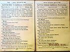 """1905 Antique """"The Little Ones"""" Bible Pictures Sunday School 13 Lesson Cards"""