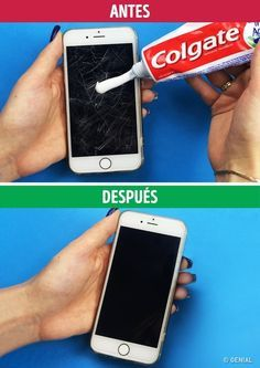 14 Fabulous tips to eliminate scratches on any surface you can imagine - Manos a la Ways to Rid Any Surface of Scratches: My smartphone looks like new again!
