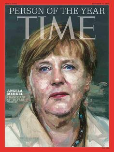 Angela Merkel is TIME's 2015 Person of the Year ‪#‎TIMEPOY‬