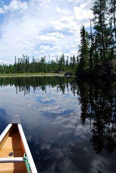 The Boundary Waters Canoe Area Wilderness near the Gunflint Trail, Minnesota