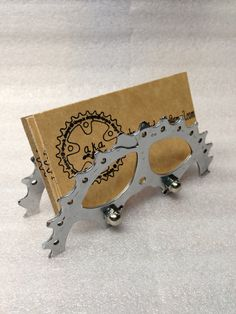 Business Card Holder-Up Cycled Bike Gear