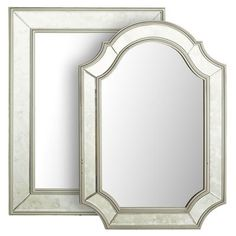 How to look like a million dollars without even trying, it's simple, bring home this stately beauty with its antiqued silver finish and feel like you've just gained an instant inheritance. The dappled mirrored frame hints at a storied past.