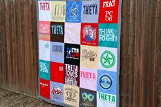 Sew Caroline: DIY: T-Shirt Quilt Part One (of two)