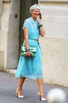 Marina Larroude, Stripes | Street Fashion | Street Peeper | Global Street Fashion and Street Style
