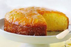 Ζουμερό κέικ με μοναδικό άρωμα πορτοκαλιού και πλούσιο σιρόπι!