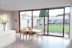 Timber Lift and Slide Doors modern windows