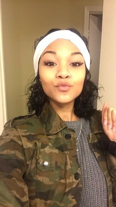 for ,or wolftyla Winter Looks, Thanksgiving Outfit, Different Hairstyles, Black Girls Hairstyles, Black Girl Magic, Makeup Inspiration, Hair Trends, Hair Goals, My Hair