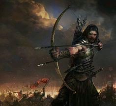 Title: Archer Artist: Faraz Shanyar #picoftheday