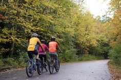 Cross the 25-mile scenic bike trail through the Lehigh Gorge State Park off your list! Follow the Lehigh River through patches of covered pathways and stretches of breathtaking scenery.