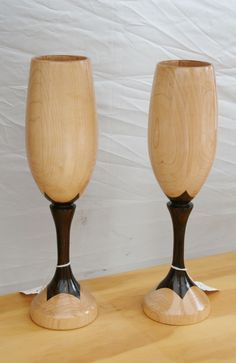 Anarque Woodworks wood goblet