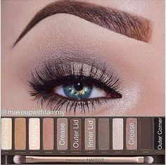 naked palette 2 for blue eyes