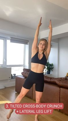 Gym Workout Videos, Gym Workout For Beginners, Fitness Workout For Women, Gym Workouts, Fitness Tips, Fitness Motivation, Workout Routines, Fitness Goals, Standing Abs Workout