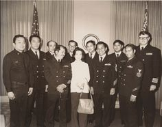 Filipinos in Ventura County Digital Image Collection  Members of the PINOYS or Personnel for Improvement in the Naval organization and Yeoman's Services