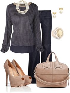 """~It's All About the Pearls~"" by mels777 ❤ liked on Polyvore"