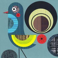 Prowd Bird - Ellen Giggenbach Prints - Easyart.com