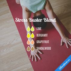 Stress Buster Blend - Essential Oil Diffuser Blend