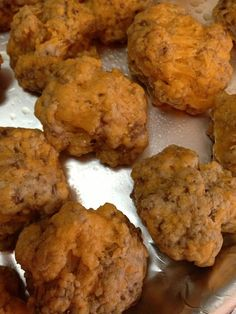 Easy sausage ball recipe...3 ingredients...25 minutes!