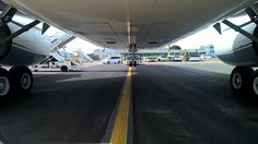 Here's a great POV from the ramp, courtesy of our FBO team at London-Stansted Airport. Thanks to Universal Aviation UK for the awesome pic! #ramplife #bizav #jetbelly