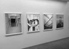 Ross McDonnell, MINE, set of 4 images, 2011