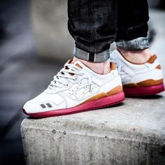 Packer x J. Crew x Asics Gel Lyte 3 1907 Collection - White...