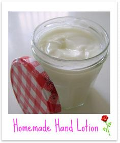 Homemade Lotion ::: water, emulsifying wax, olive oil, essential oil