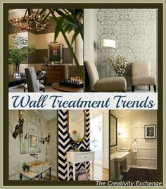 Favorite Wall Treatment Trends {Friday Favorites} The Creativity Exchange